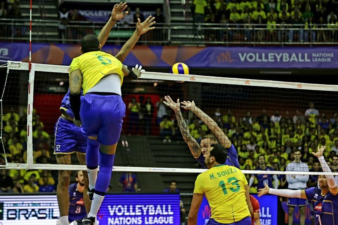 Brasil Vence A Franca E Garante Classificacao Para A Fase Final Da Liga Das Nacoes Rede Do Esporte